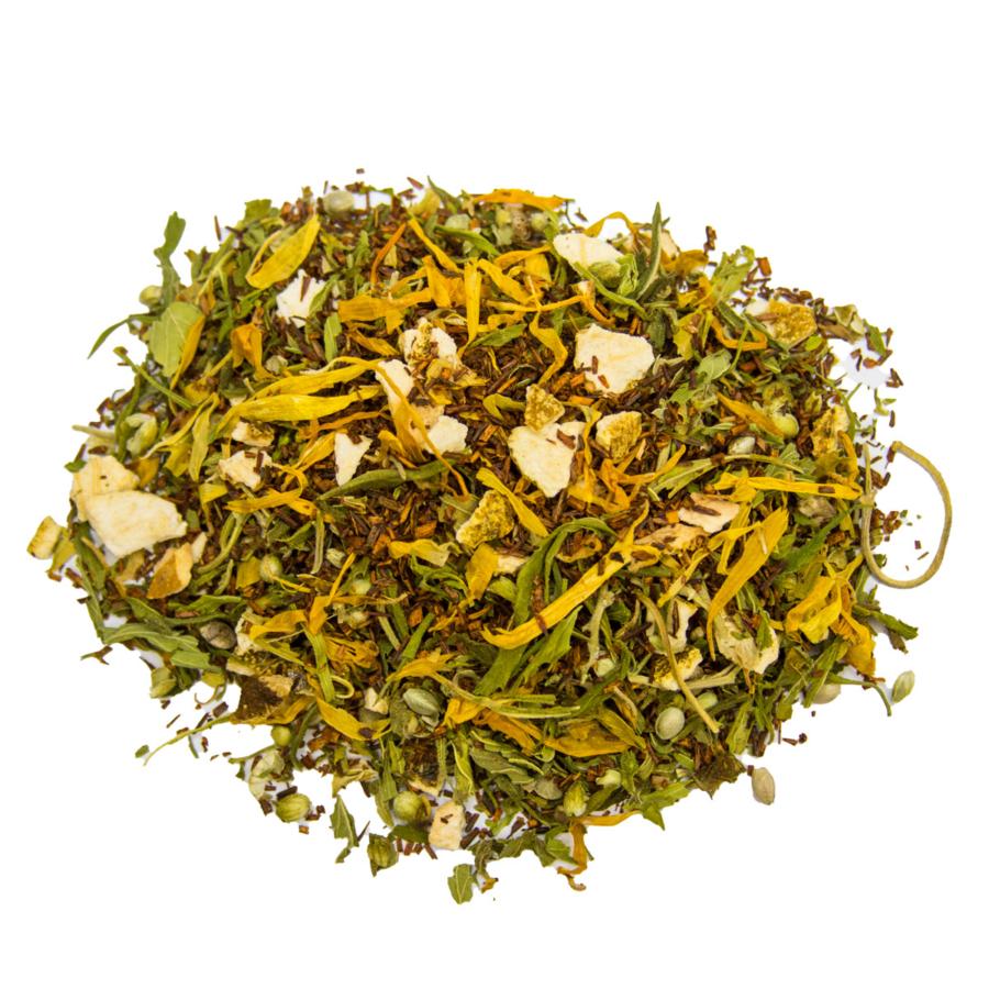 Hanfblätter-Tee mit Rooibos lose