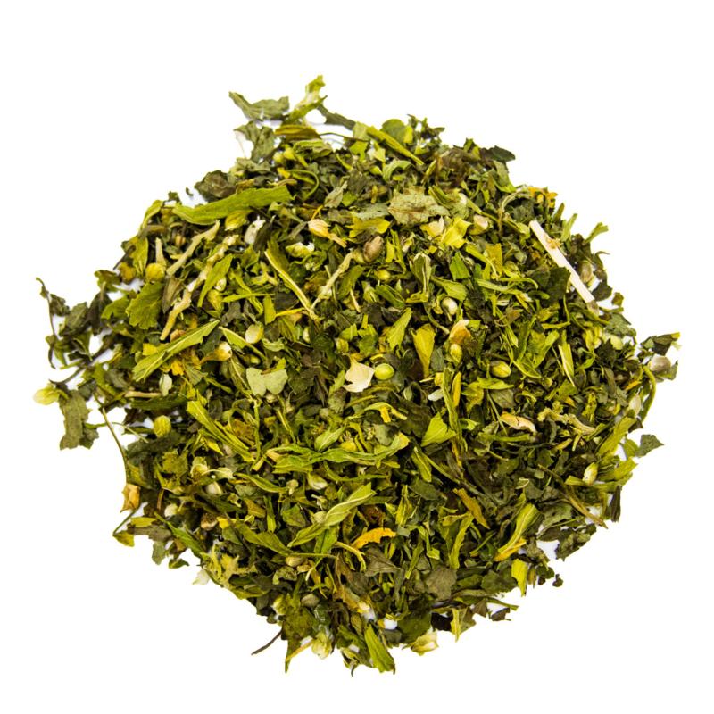 Hanfblätter-Tee mit Melisse lose