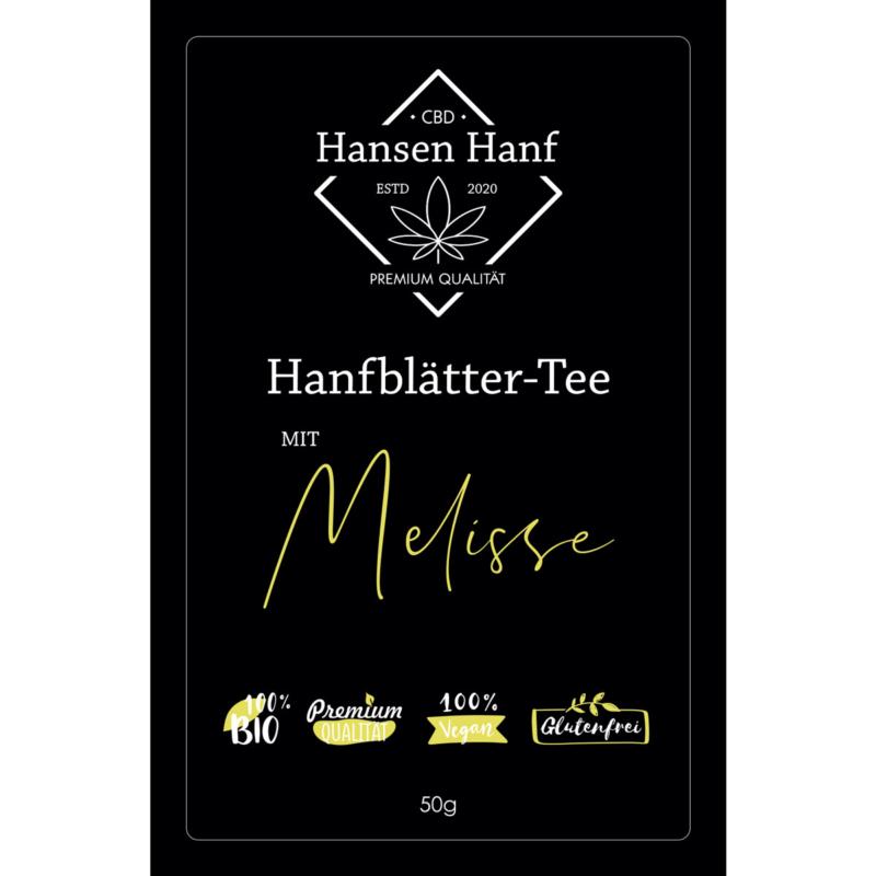 Hanfblätter-Tee Melisse