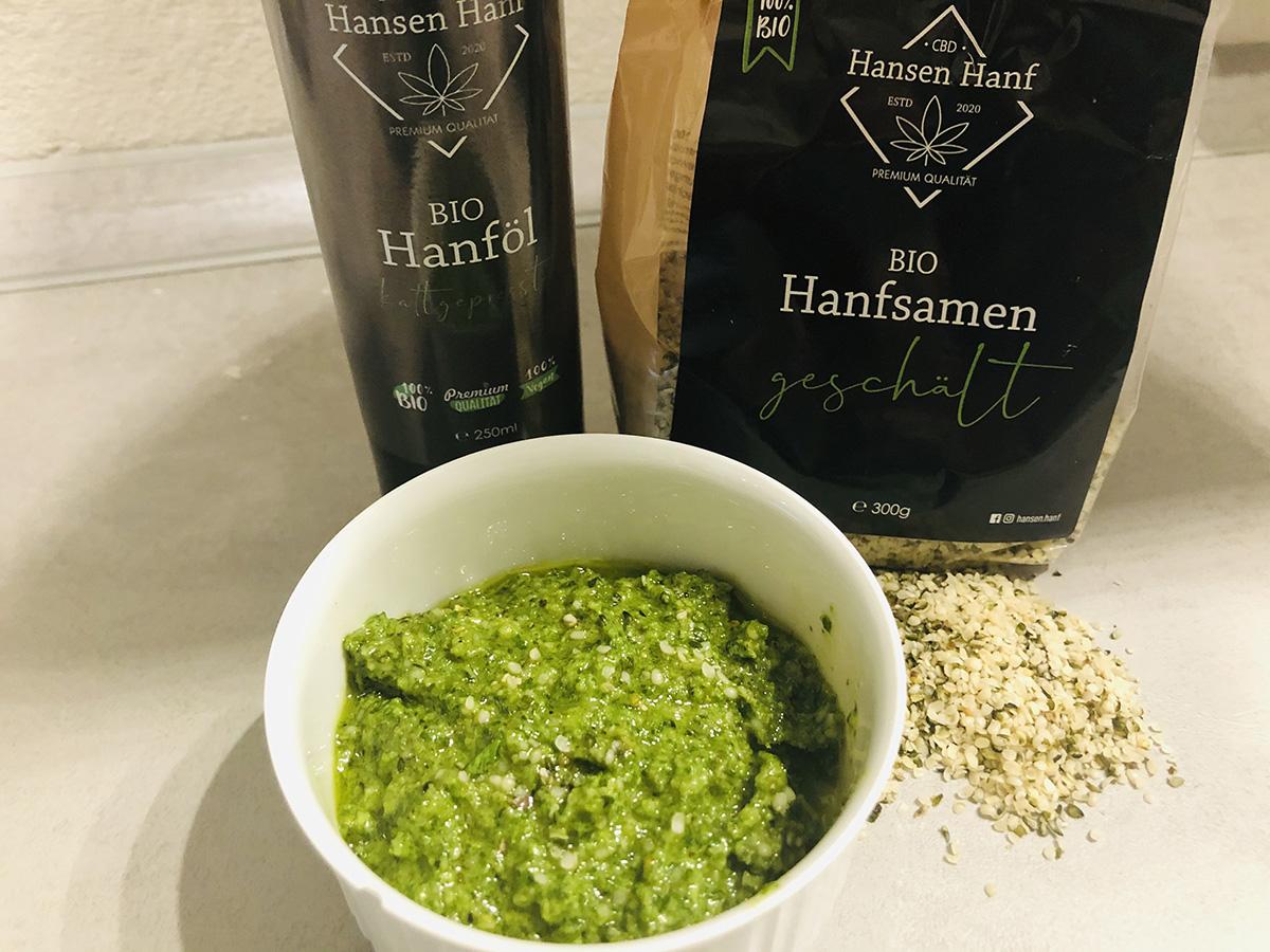 Hanf-Pesto