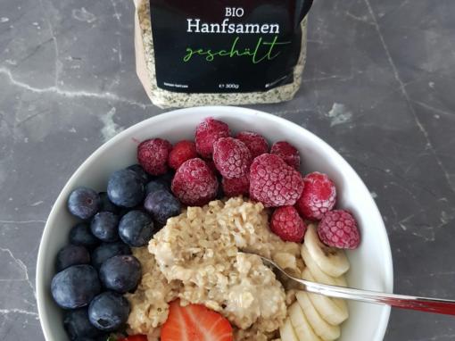 Porridge mit Banane