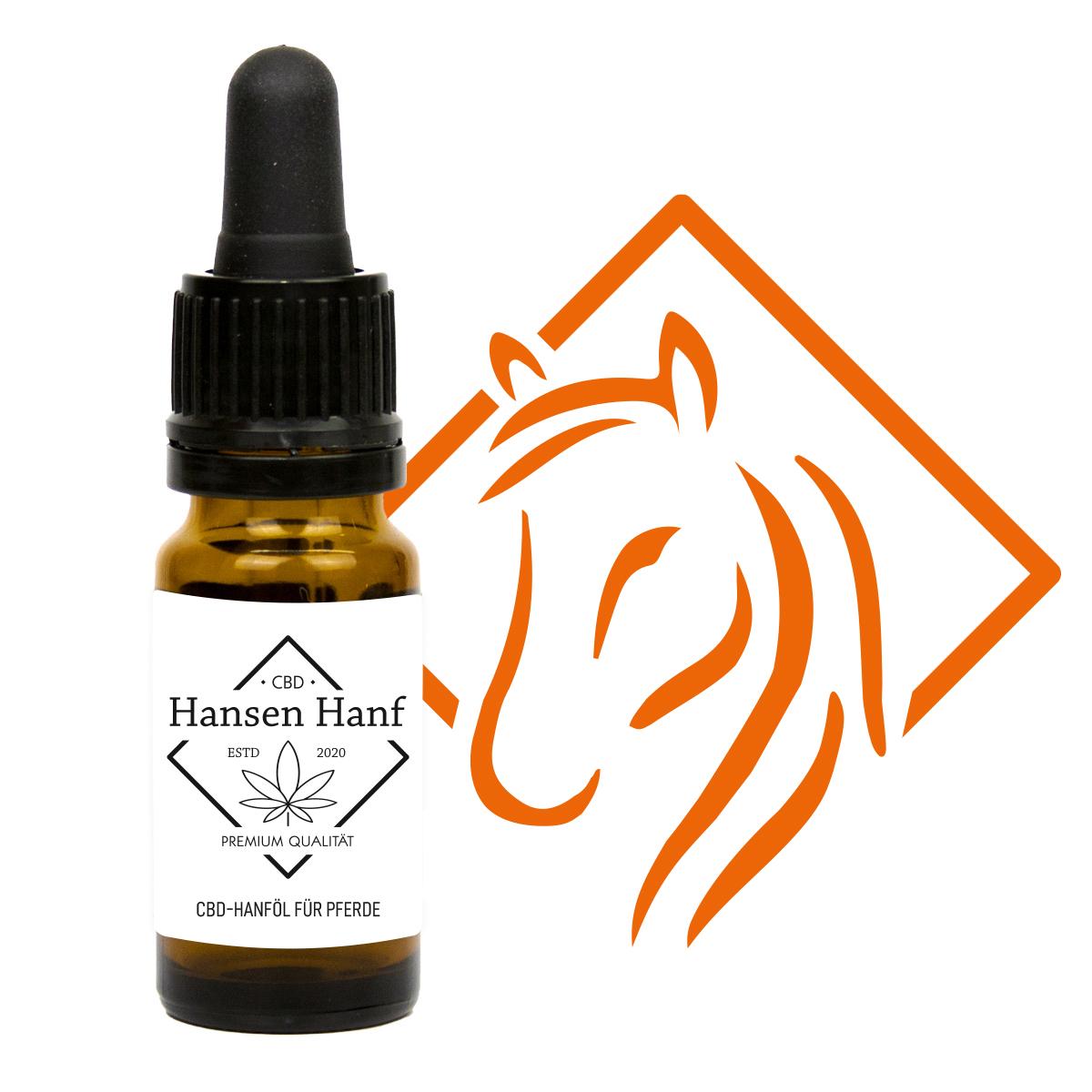 CBD Hanföl für Pferde