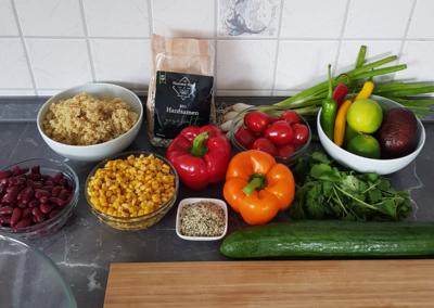 Mexiko-Quinoa-Salat