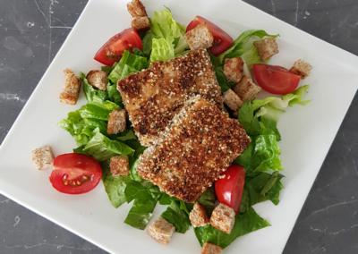 Salat Caesar-Art (vegan)