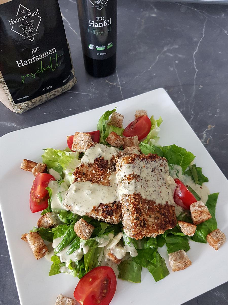 Salat-Caesar-Art